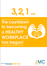 The countdown to becoming a healthy workplace has begun! (Abre una ventana nueva)
